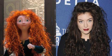 disney princess hairstyles - celebrity