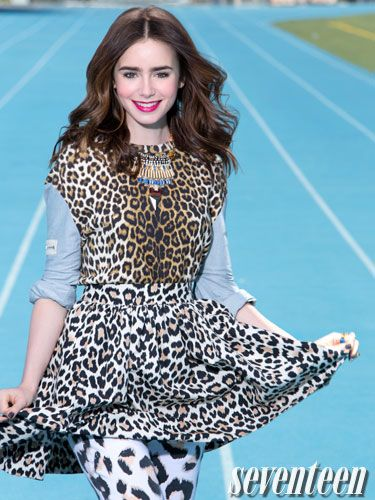 lily collins style and