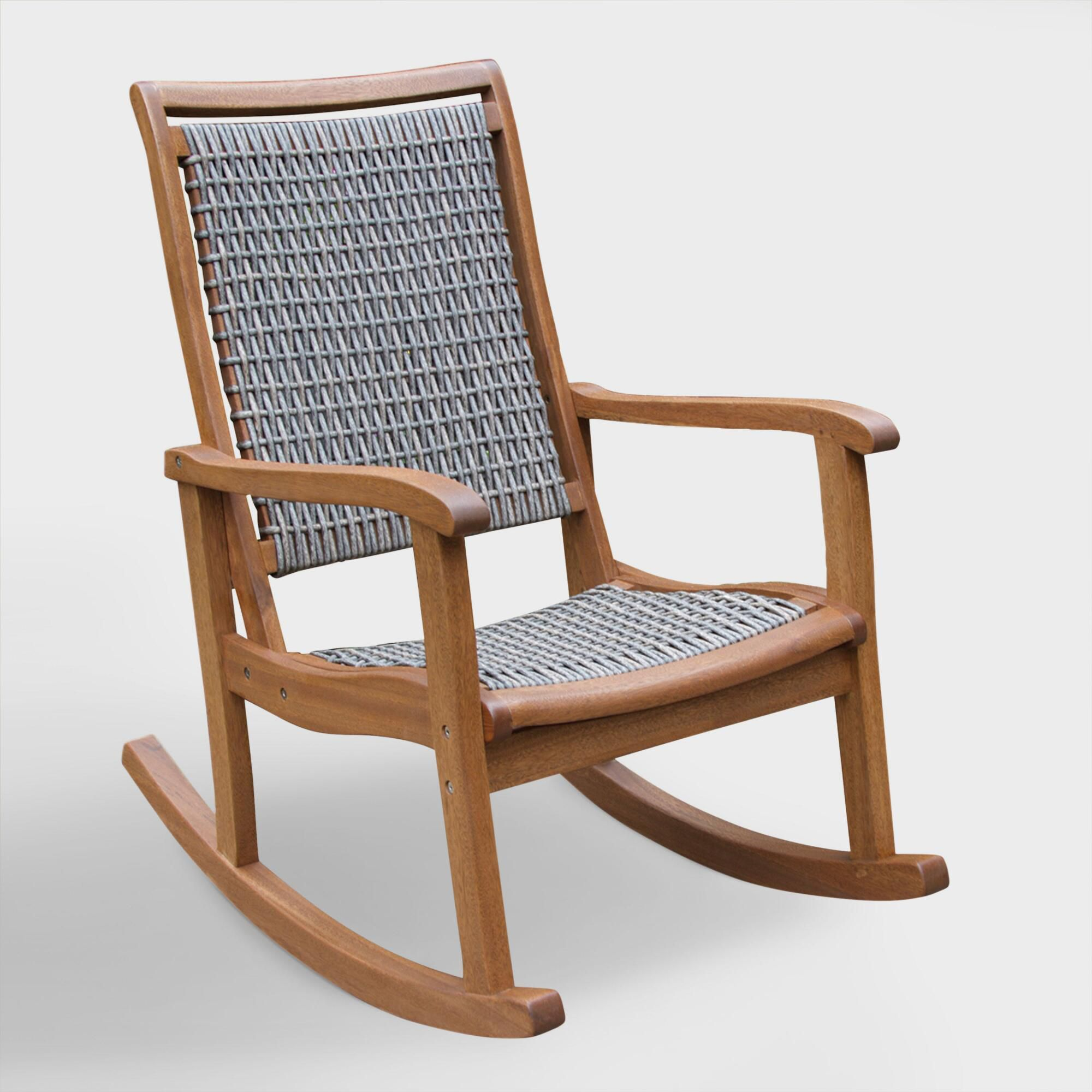 Cheap Rocking Chairs Wicker Wood All Weather Rocking Chair