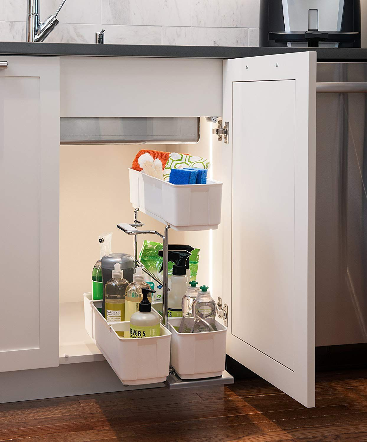 pull out organizer with caddy
