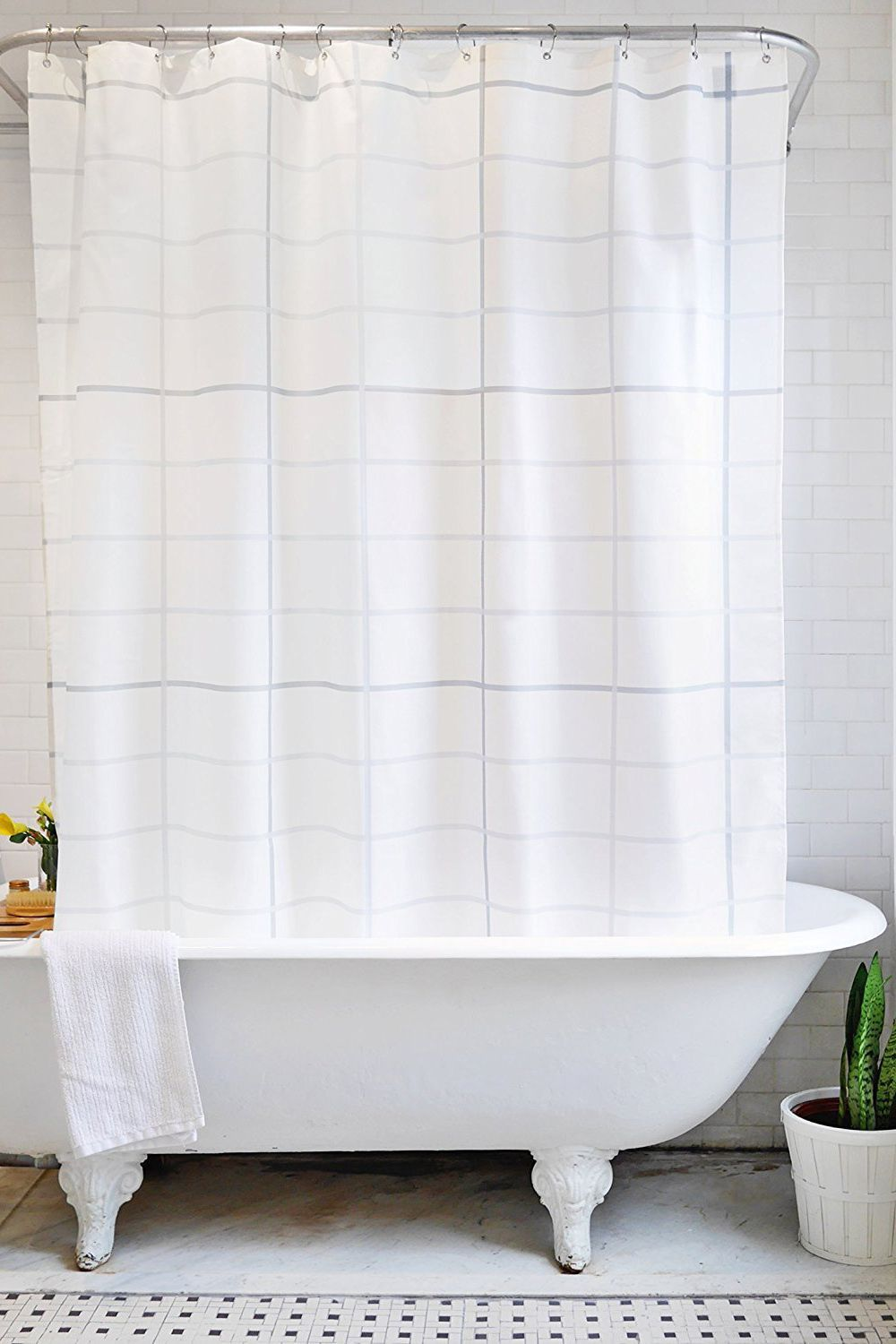 Bathroom Shower Curtain A Classic Option