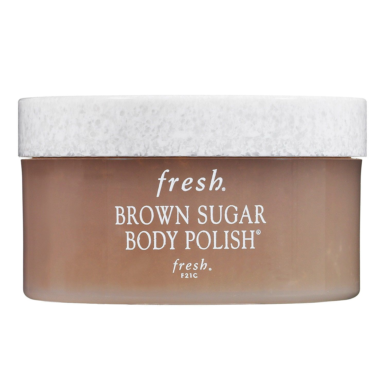 hight resolution of brown sugar body polish exfoliator