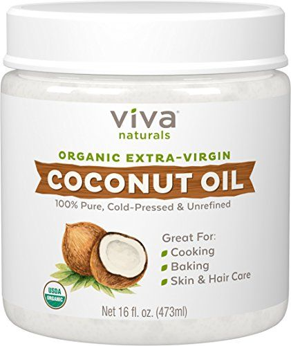 Favorite DIY Mask #1: Viva Naturals Organic Extra Virgin Coconut Oil