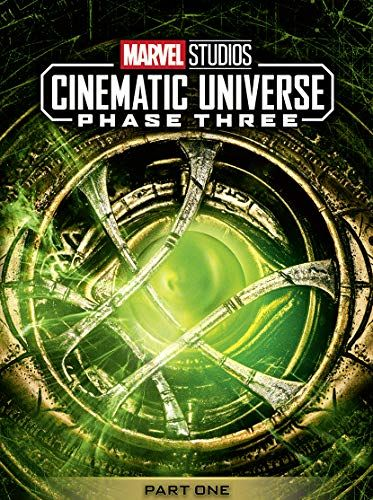 Set of boxes for Marvel Studios collections - Phase 3, part 1 [DVD] [2018]