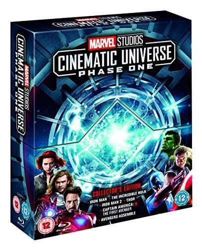 A set of collector's editions of Marvel Studios - Blu-ray phase 1 [Region Free]