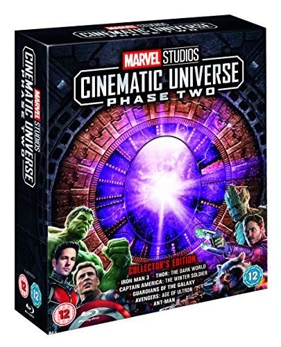 Marvel Studios Collector's Edition Box set - Phase 2 Blu-ray [Region Free]