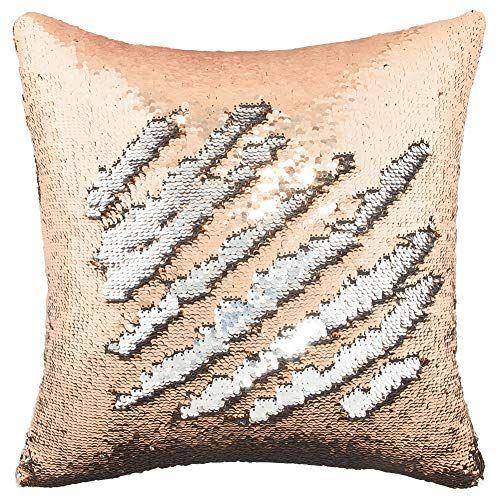 mermaid sequin pillow cover