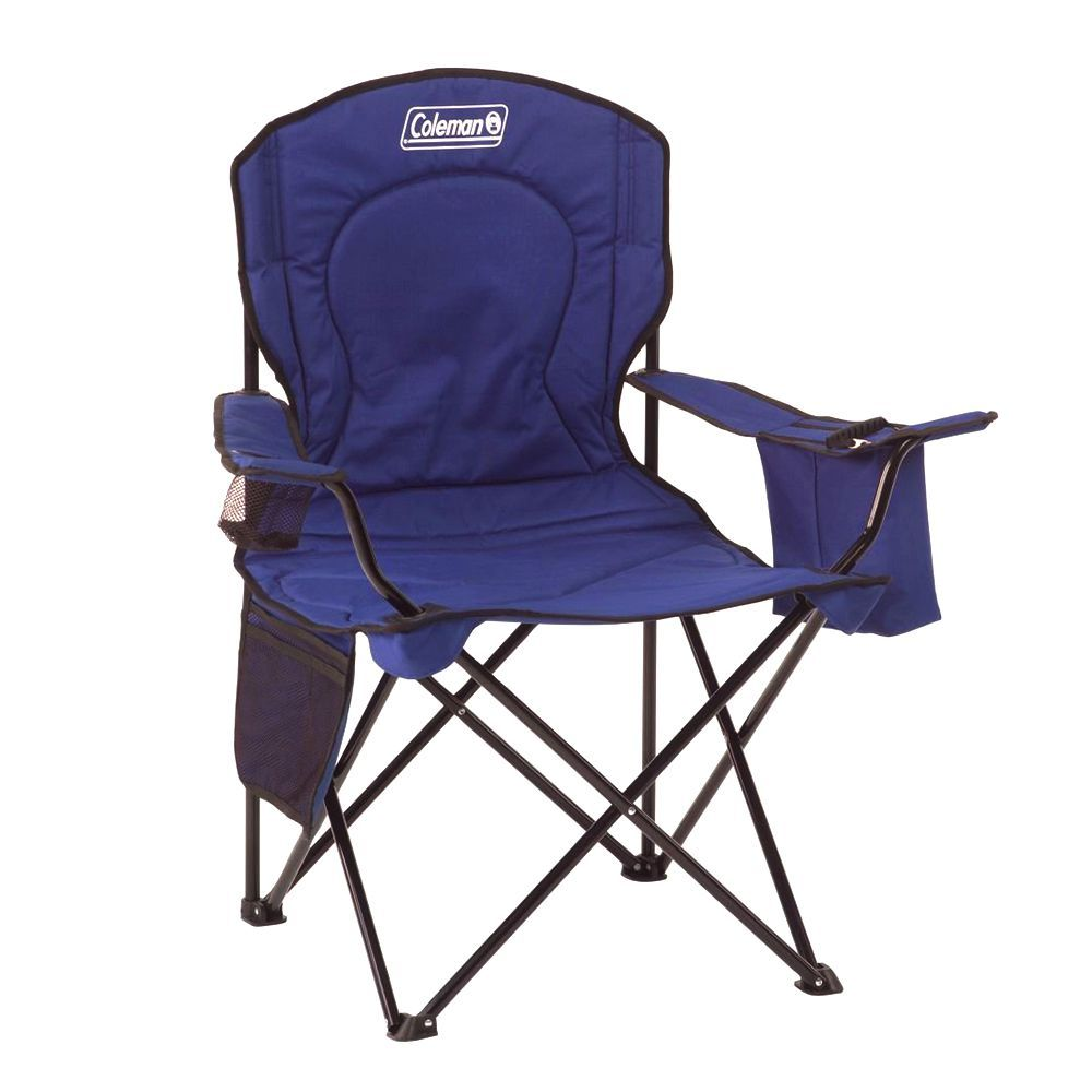 Most Comfortable Camping Chair Coleman Portable Camping Quad Chair With Cooler