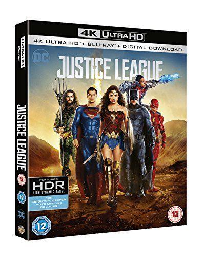Justice League [4k Ultra HD + Blu-ray + Digital Download] [2017]