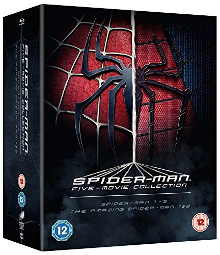 The Complete Collection of Five Spider-Man Movies [Blu-ray] [Region Free]