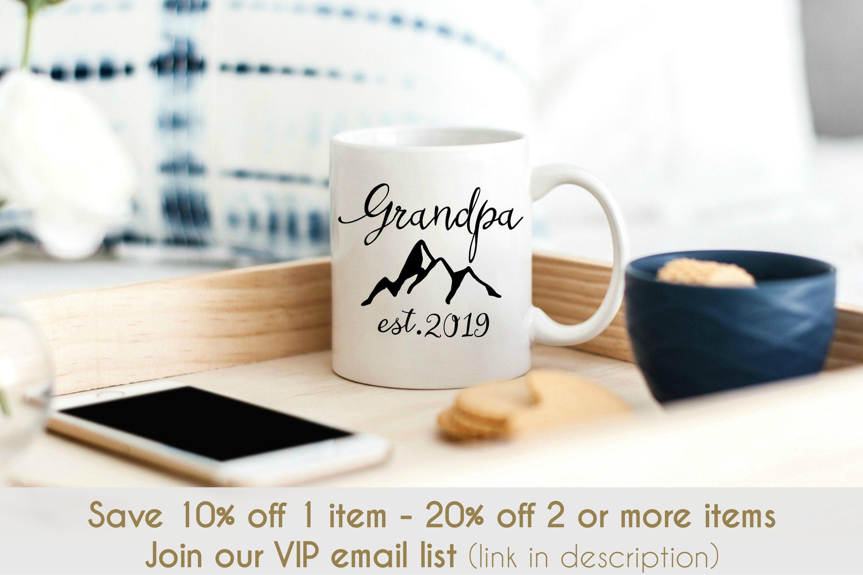 personalized grandpa mug