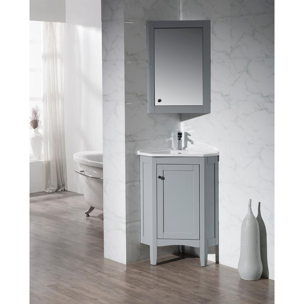 Vanities Bathroom Monte Grey 25