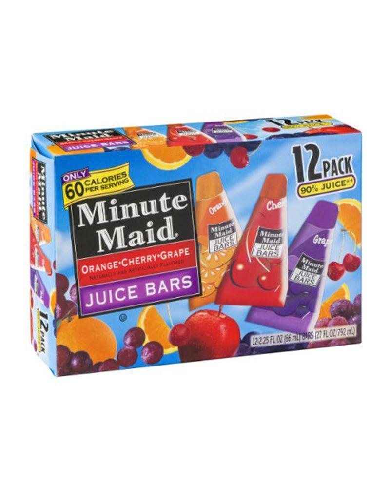 Minute Maid Juice Bars 90s : minute, juice, Minute, Juice, Crafts, Ideas