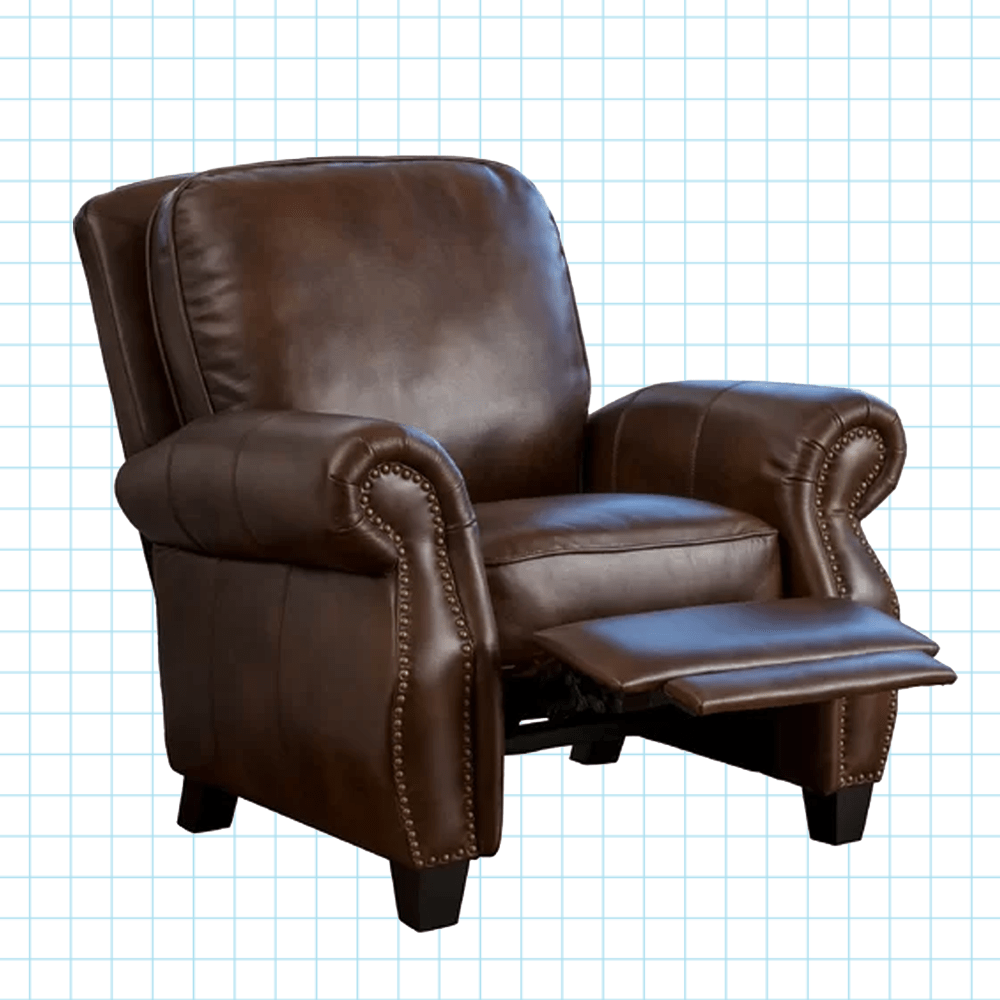 Leather Reclining Chairs Kettering Manual Recliner