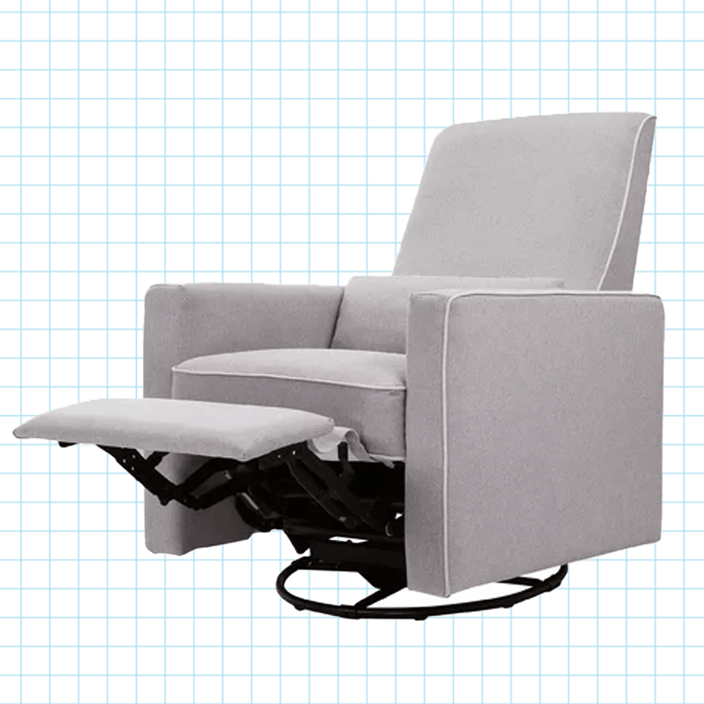 Body Built Chairs Piper Reclining Glider