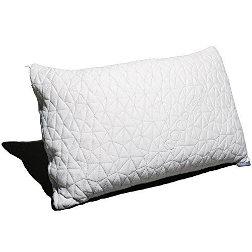 premium adjustable loft memory foam pillow