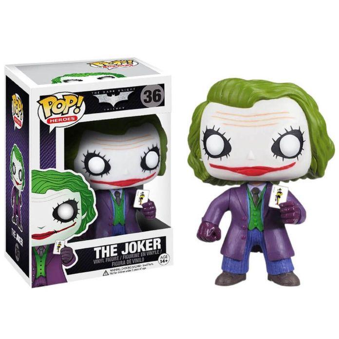 DC Comics Batman The Dark Knight Le Joker Pop! Figurine en vinyle