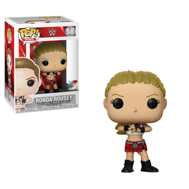 WWE - Ronda Rousey Pop! vinyl figure