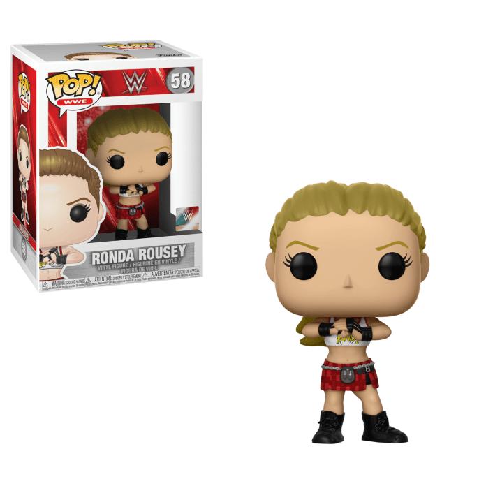 WWE - Ronda Rousey Pop!  figurine in vinyle