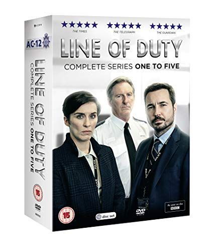 Line of Duty Box Series 1-5 [DVD]