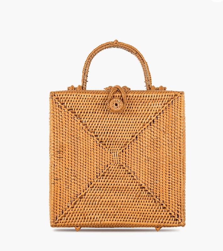Bembien Stella Rattan Box Bag