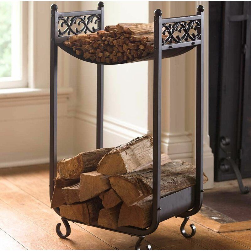 indoor firewood log holders