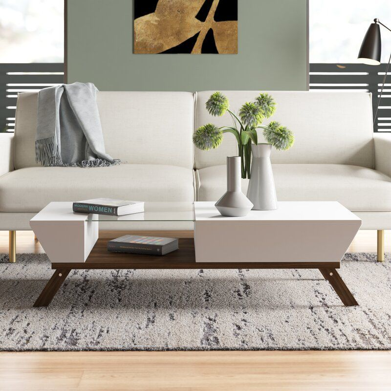 soto coffee table with storage