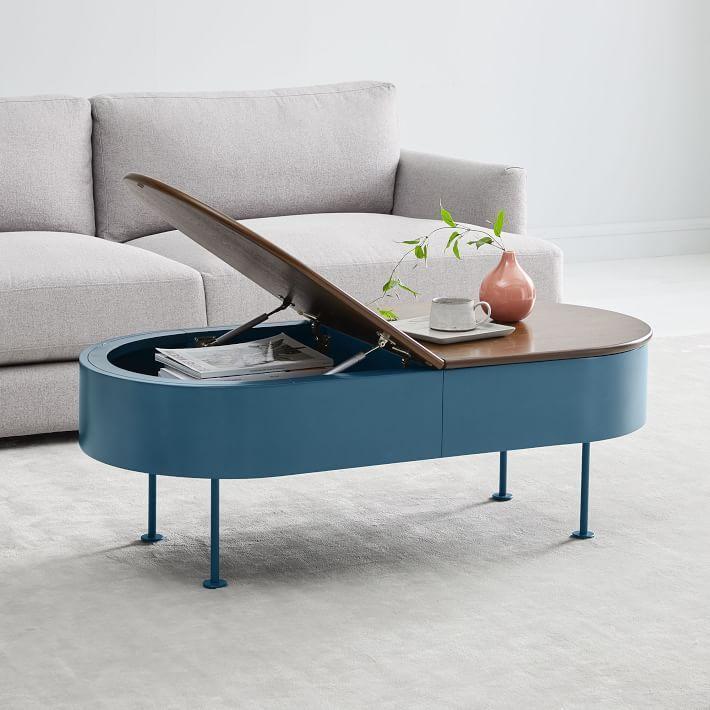 ruby storage coffee table