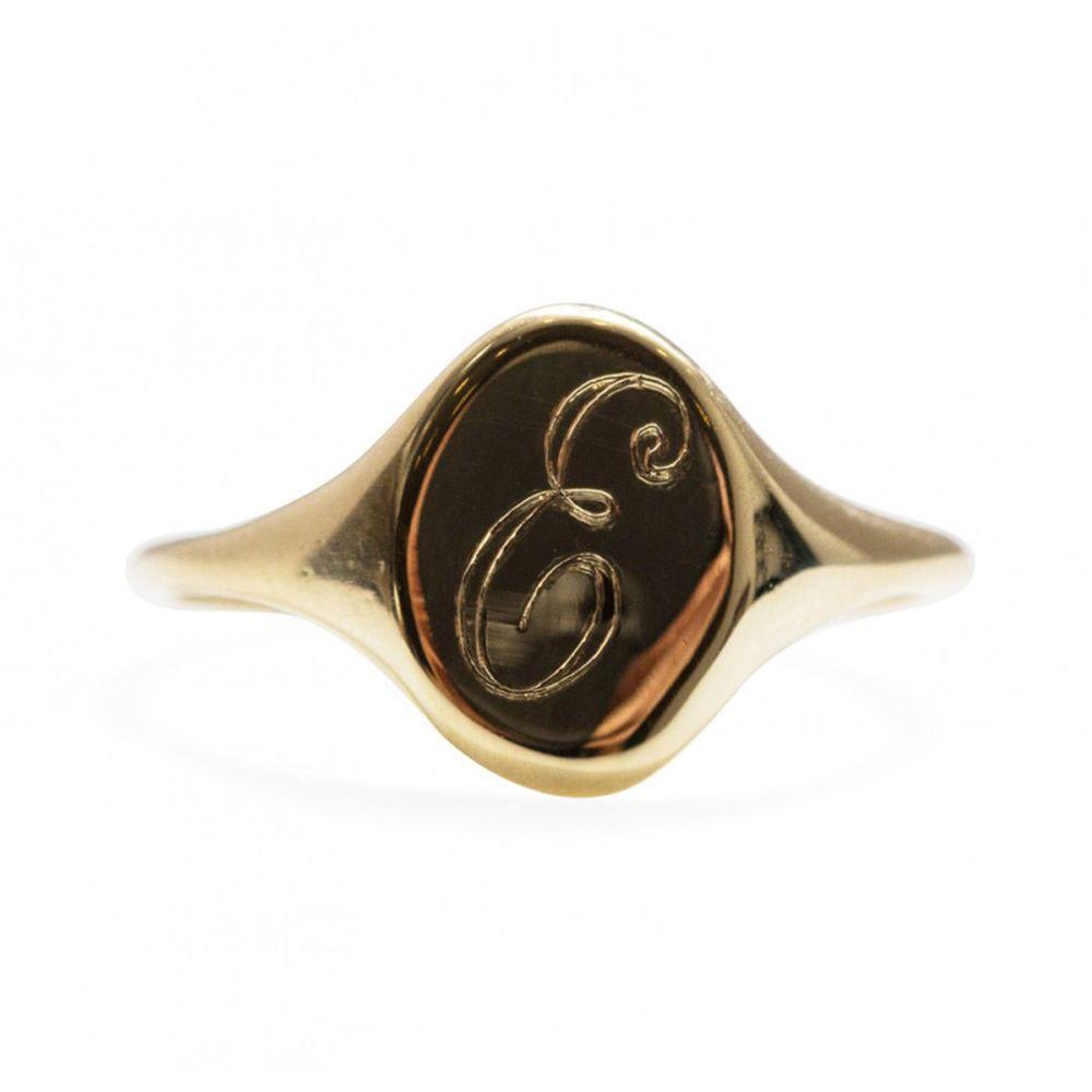 Small Heirloom Signet Ring