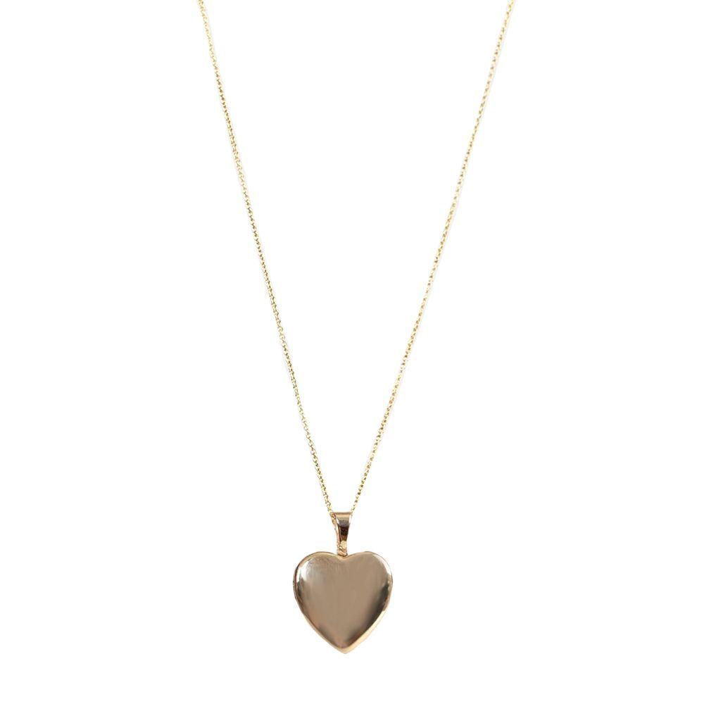 Maison Heart Locket Necklace