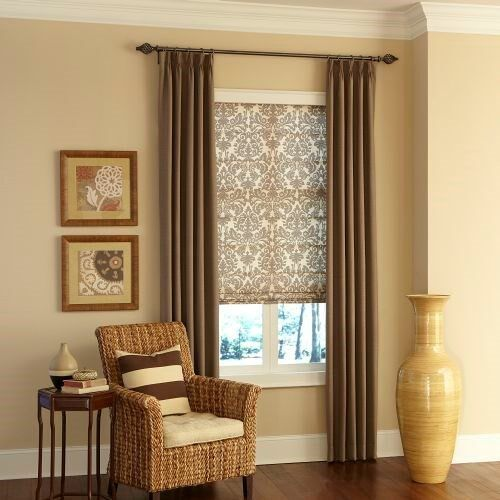 pinch pleat drapery blackout curtains