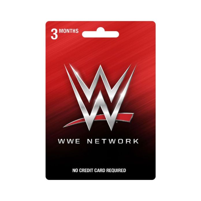 WWE Network 3 Month Subscription Prepaid Card