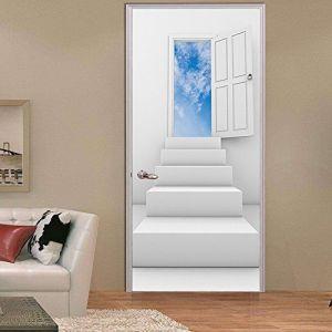 door doors adhesives brighten decorative any scenic wallpapers
