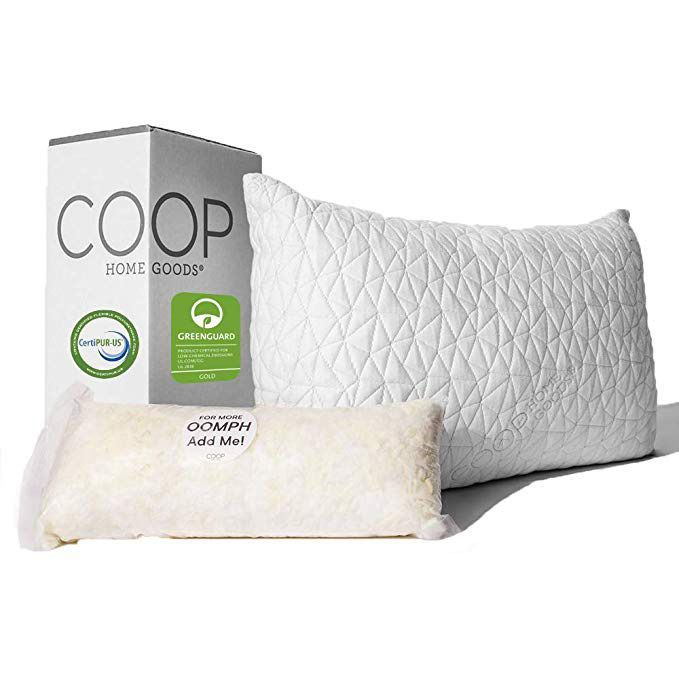 premium adjustable loft pillow