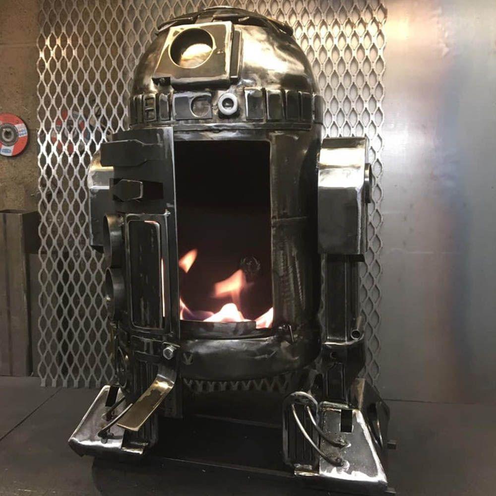 R2D2 Fire Pit