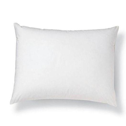 800 fill power european goose down sateen pillow