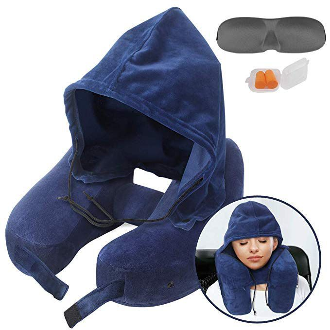 neck inflatable travel pillow