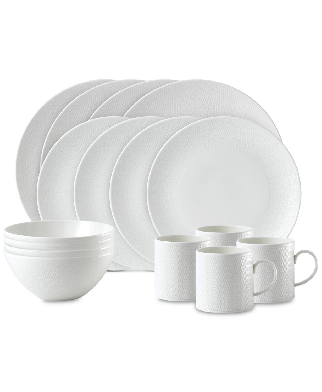 gio 16 piece dinnerware set