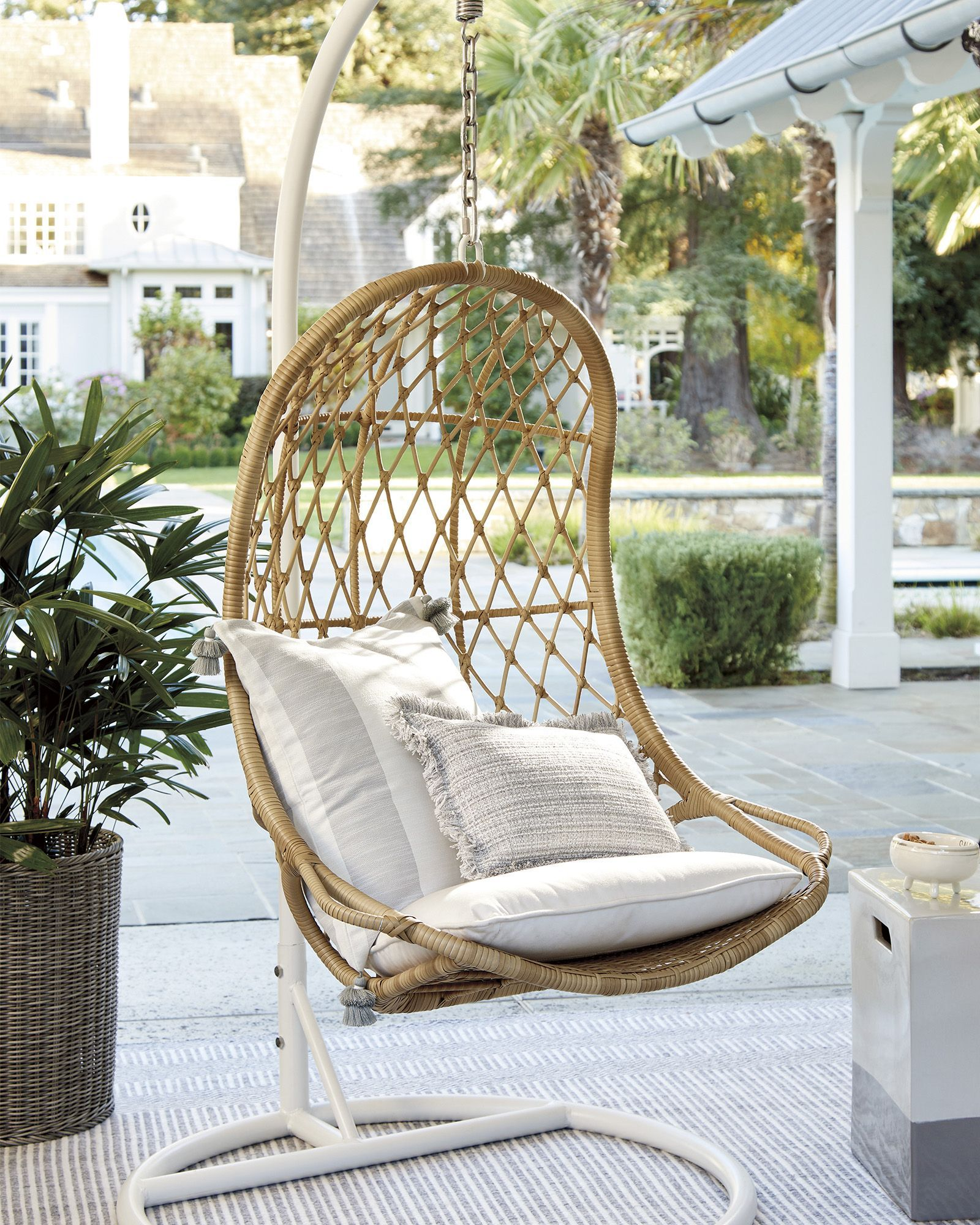 capistrano outdoor hanging chair stand