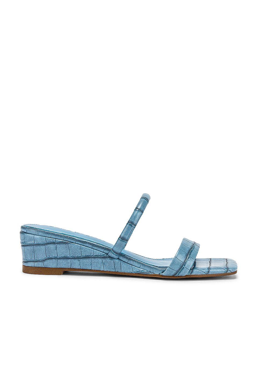 Fia Sandal in Blue