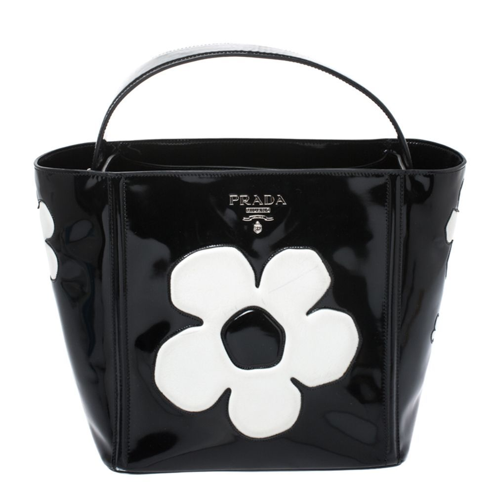 Flower Top Handle Bag