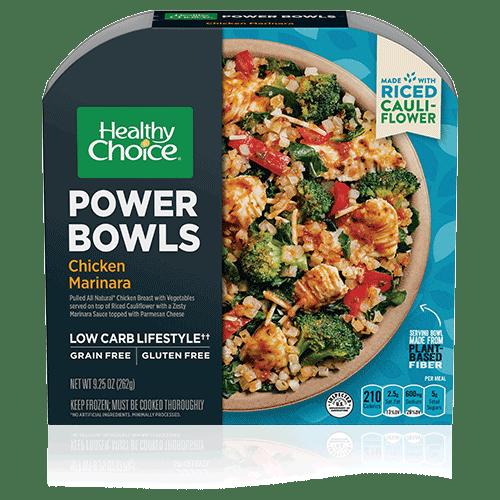 chicken marinara power bowl