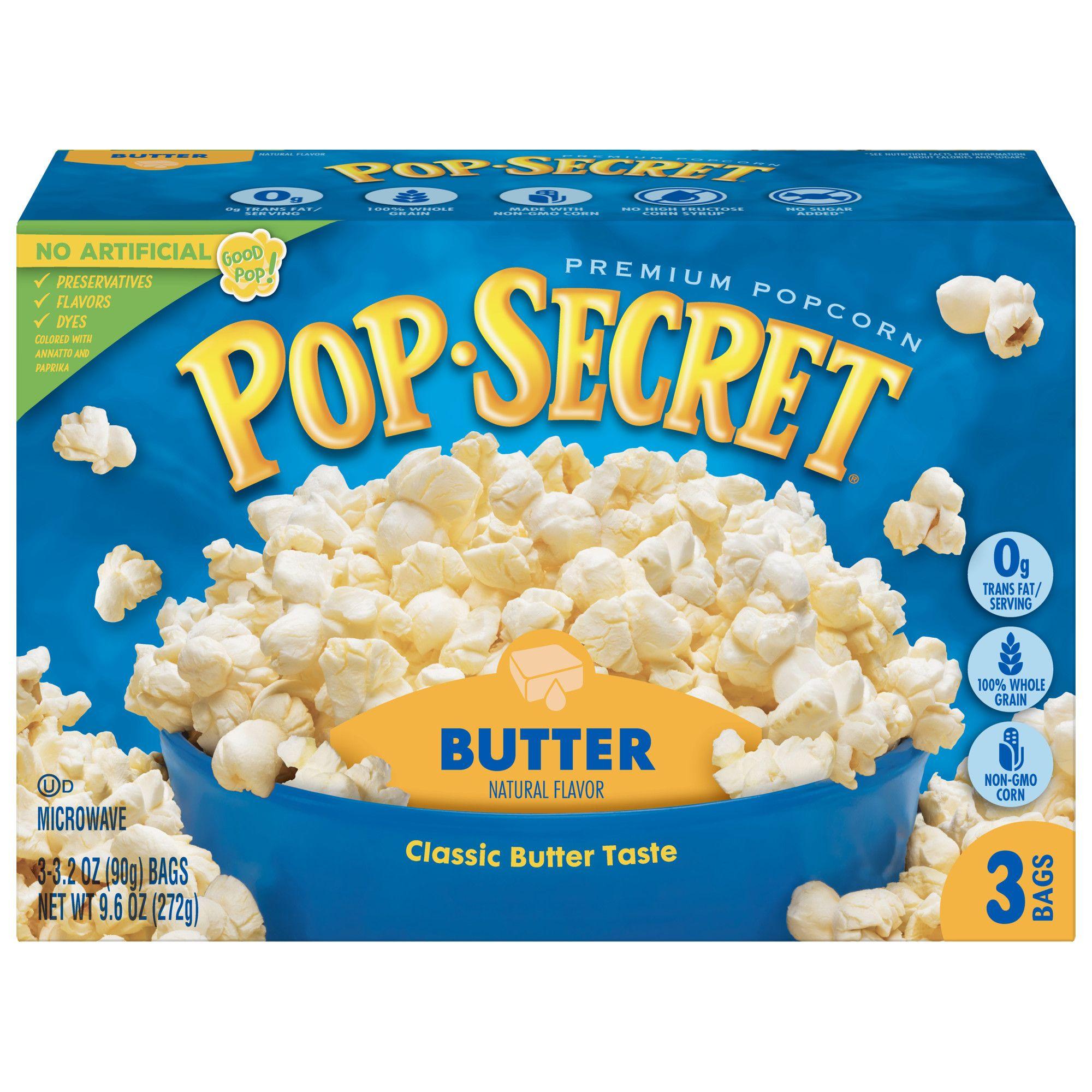 pop secret popcorn butter