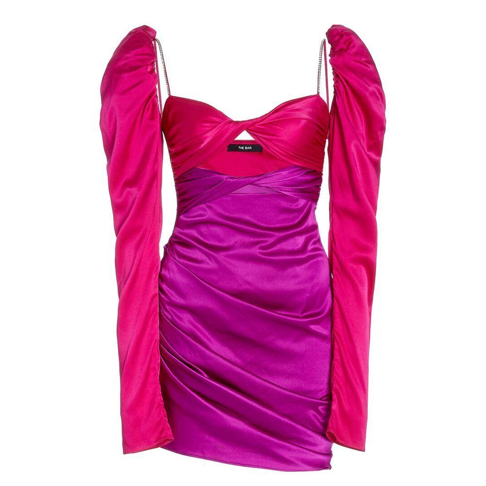Long Sleeve Twist Top Dress