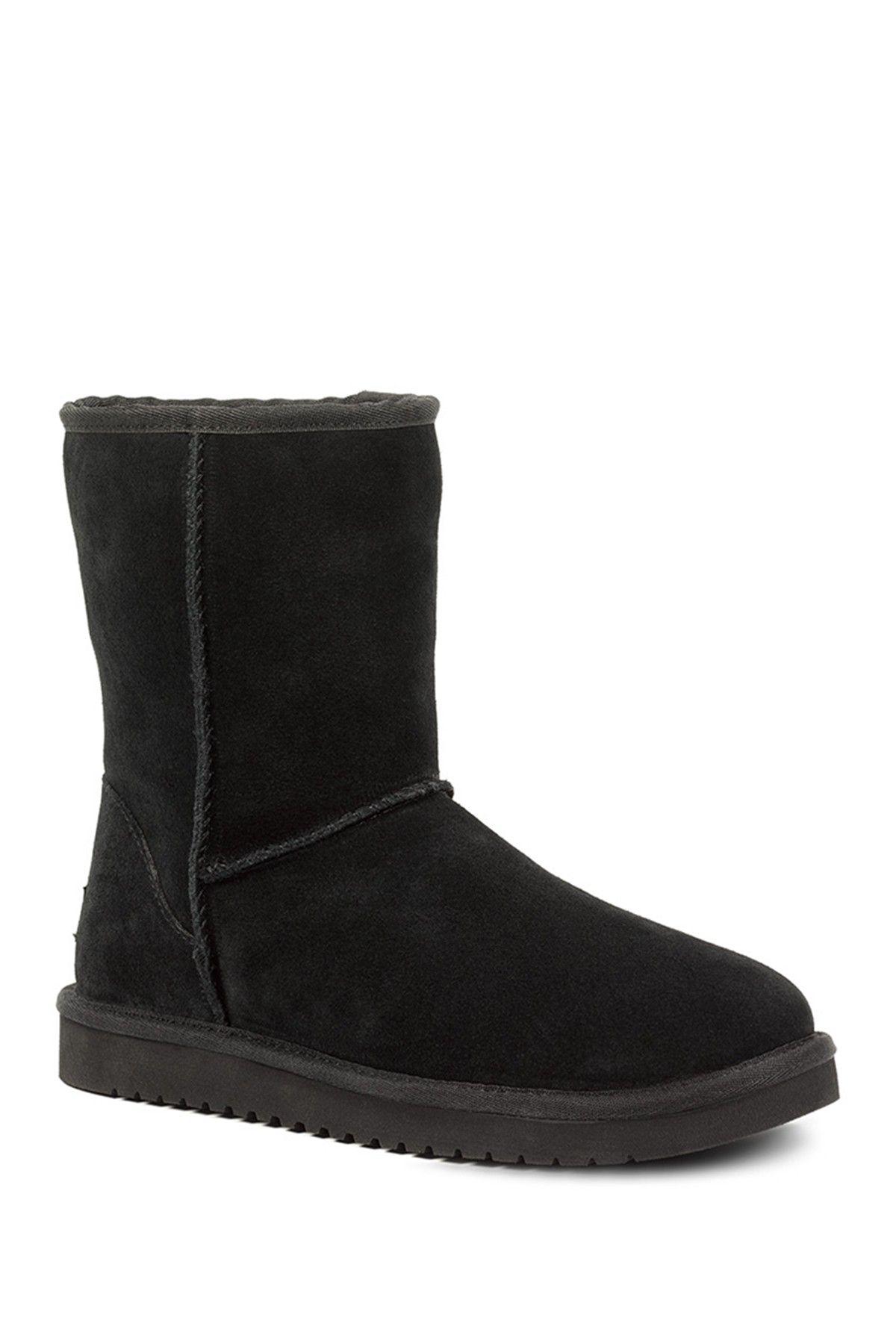 Classic Short Faux Fur Lined Boots