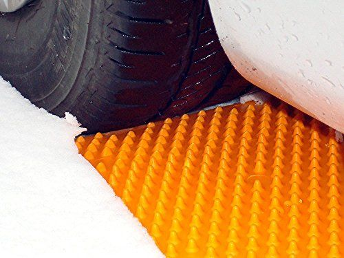 Portable tire shock mats