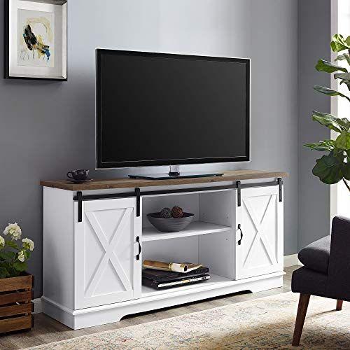 Barnwood TV Stand
