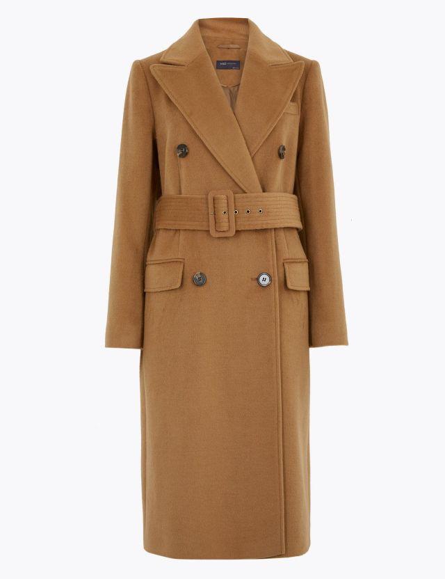 Καμηλό παλτό, Marks & Spencer.