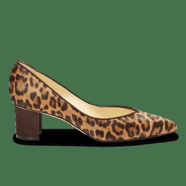 Emma Leopard heels