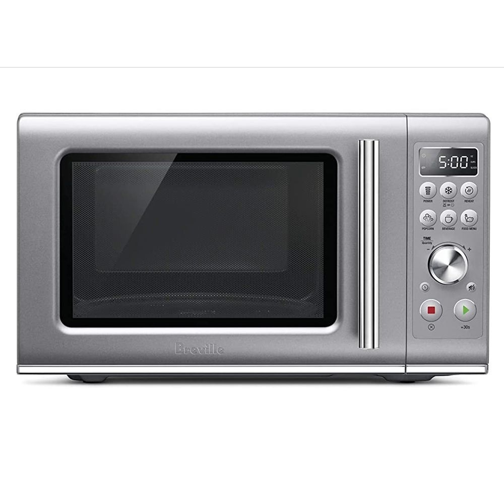compact wave soft close microwave